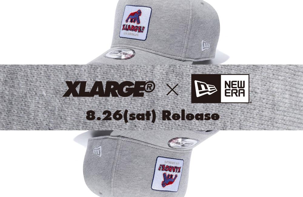 "XLARGE®名古屋店 ""XLARGE®×NEW ERA WALKING APE CAP 2 ""販売についての ... 6f75db28d30"